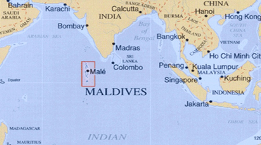 Location And Geography Of Maldives Coconut Shop